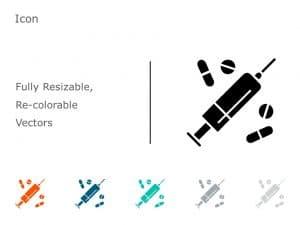 Syringe PowerPoint Icon 22