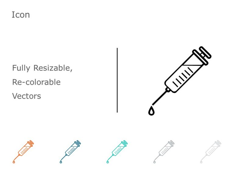 Syringe PowerPoint Icon 23
