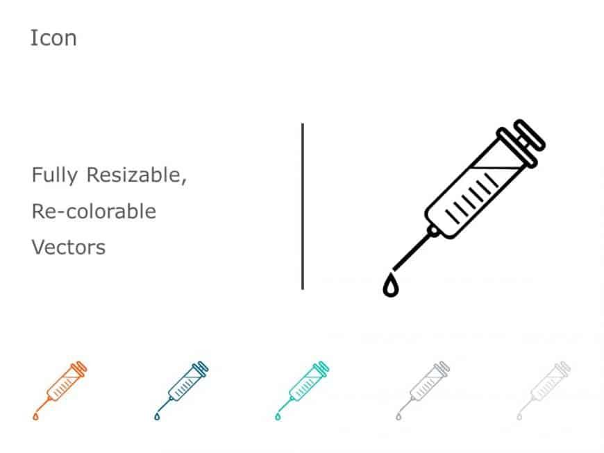 Syringe PowerPoint Icon 23