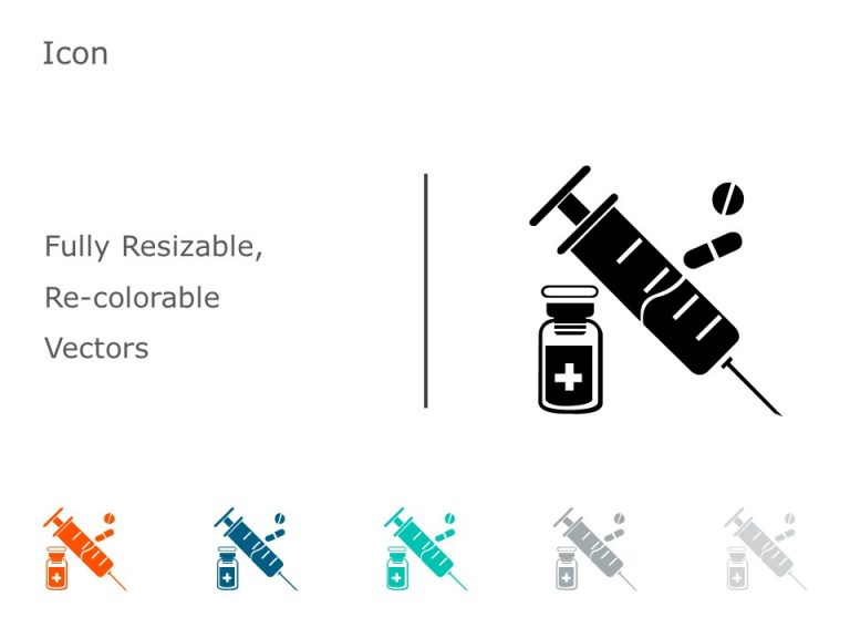 Syringe PowerPoint Icon 25