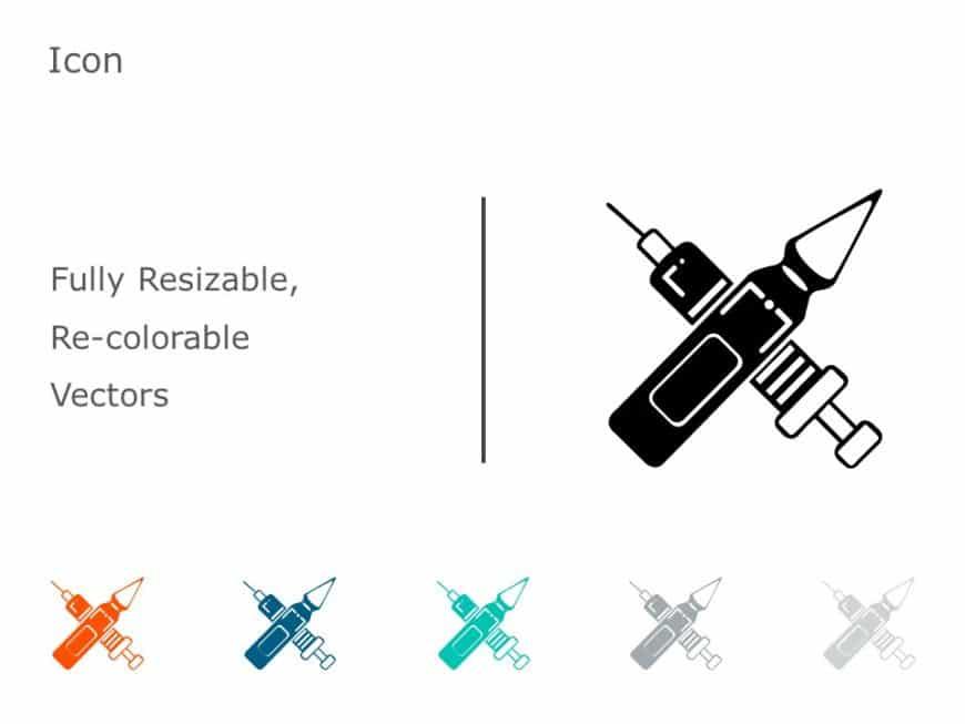 Syringe PowerPoint Icon 29