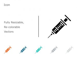 Syringe PowerPoint Icon 30