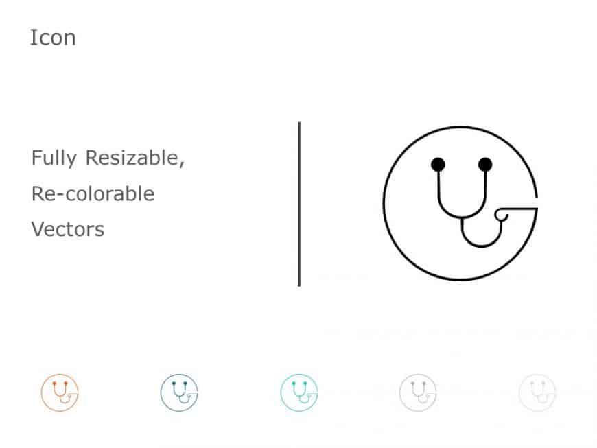 Stethoscope PowerPoint Icon 51
