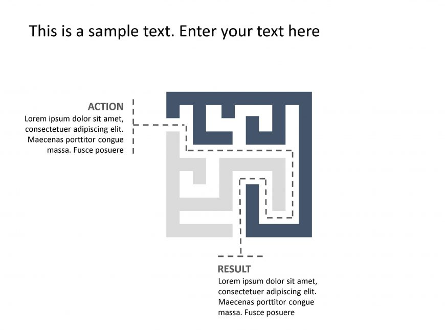 Actions Result PowerPoint Template 9