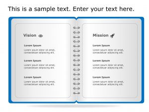 Vision Mission PowerPoint Template 66