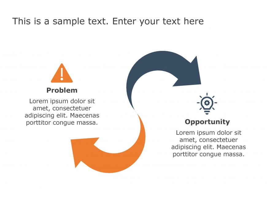 Problem Opportunity PowerPoint Template 79