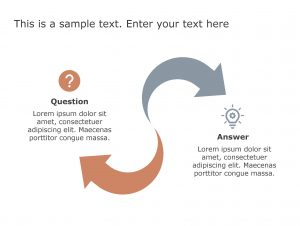 Question Answer PowerPoint Template 83
