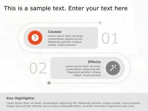 Cause Effect PowerPoint Template 90