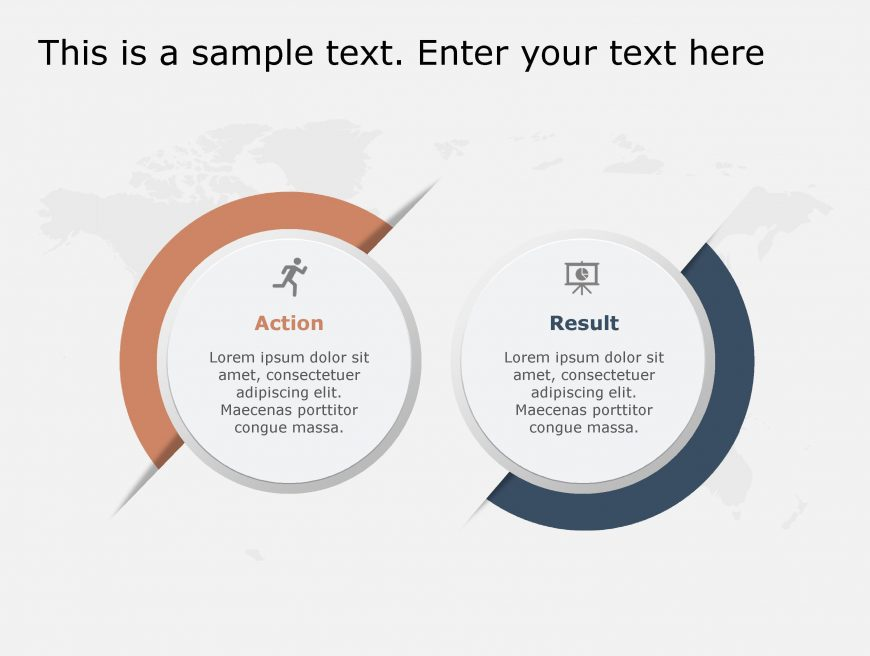 Actions Result PowerPoint Template 108