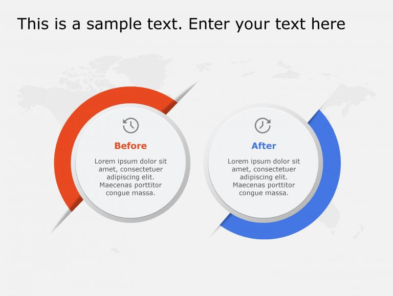 Before After PowerPoint Template 109