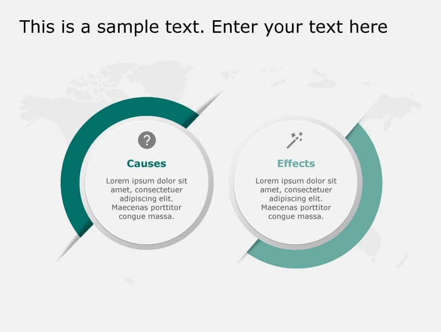 Cause Effect PowerPoint Template 110