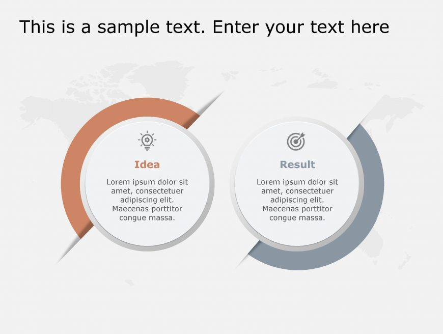 Idea Result PowerPoint Template 115