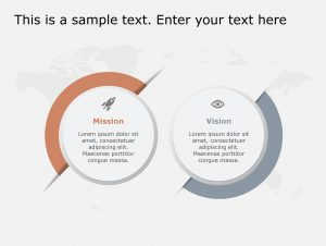 Vision Mission PowerPoint Template 120