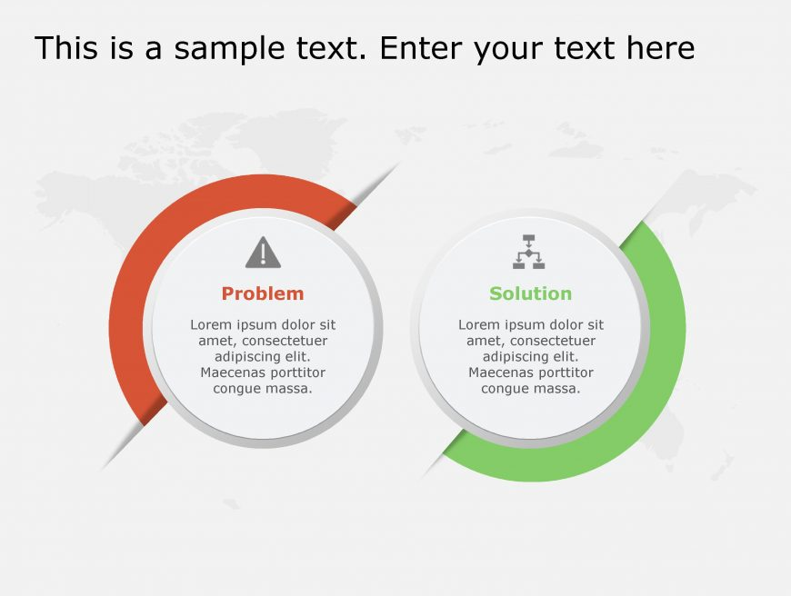 Problem Solution PowerPoint Template 122