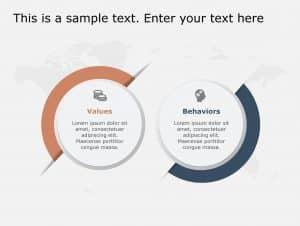 Values Behavior PowerPoint Template 127