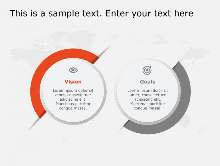 Vision Goals PowerPoint Template 128