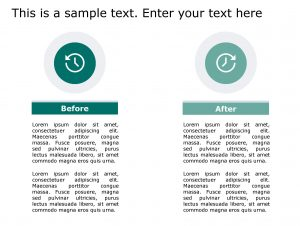 Before After PowerPoint Template 130