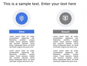 Idea Result PowerPoint Template 136