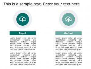 Input Output PowerPoint Template 137