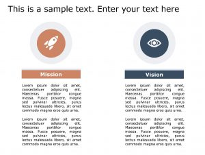 Vision Mission PowerPoint Template 141