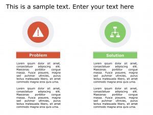 Problem Solution PowerPoint Template 143