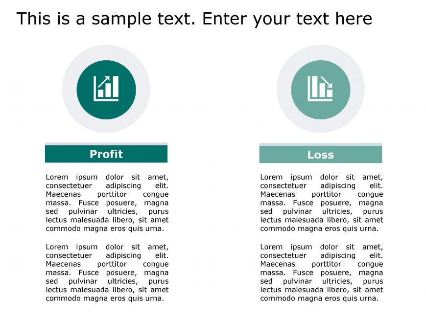 Profit Loss PowerPoint Template 144