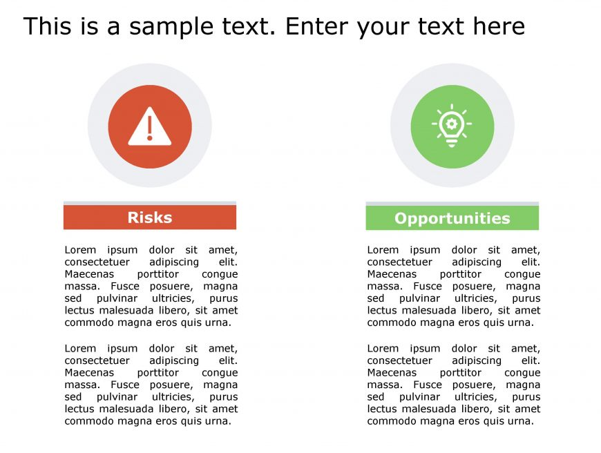 Risk Opportunity PowerPoint Template 147