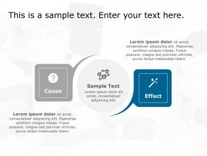 Cause Effect PowerPoint Template 152