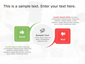 Good Bad PowerPoint Template 159