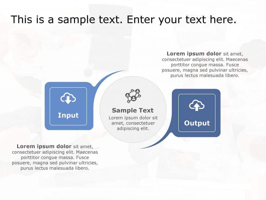 Input Output PowerPoint Template 161