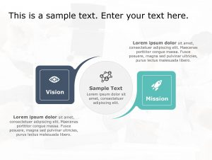 Vision Mission PowerPoint Template 164