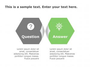 Question Answer PowerPoint Template 169