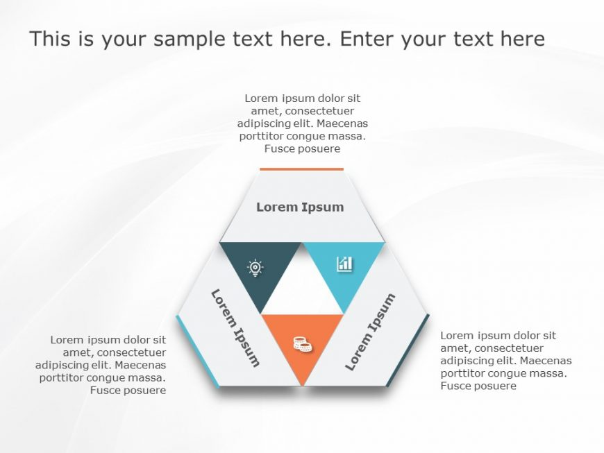 3 Text PowerPoint Template