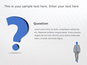 Question PowerPoint Template