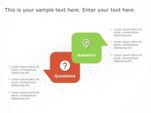 Question Answer Template for PowerPoint