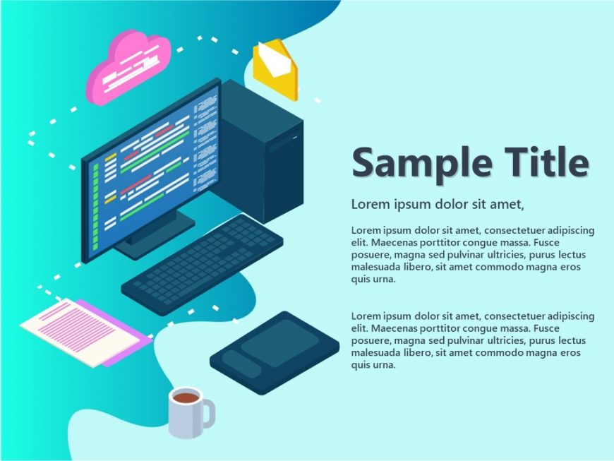 Isometric Remote Working