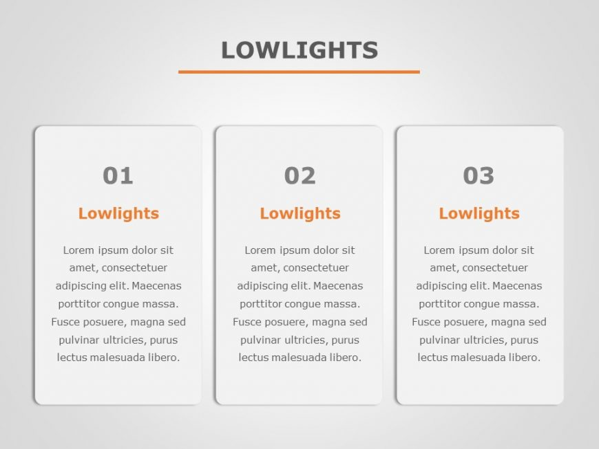 Lowlights PowerPoint Template