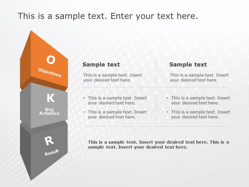 OKR Tracking Template