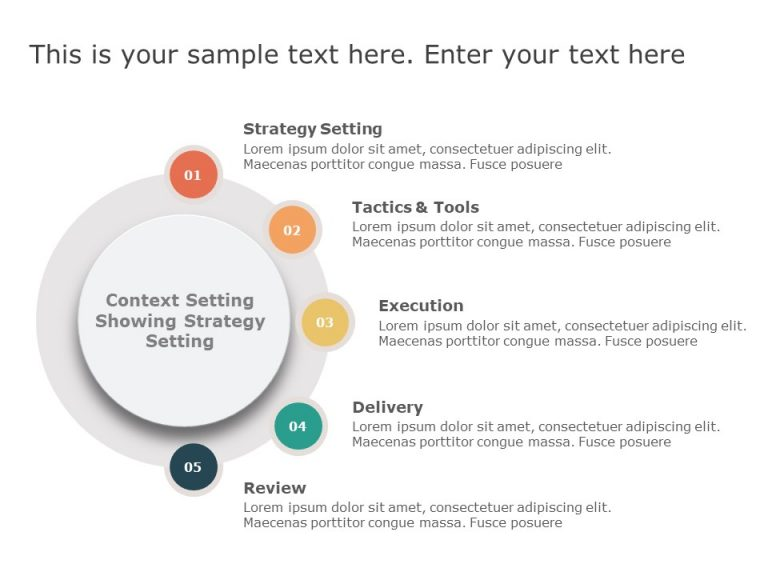 Context Setting PowerPoint Template