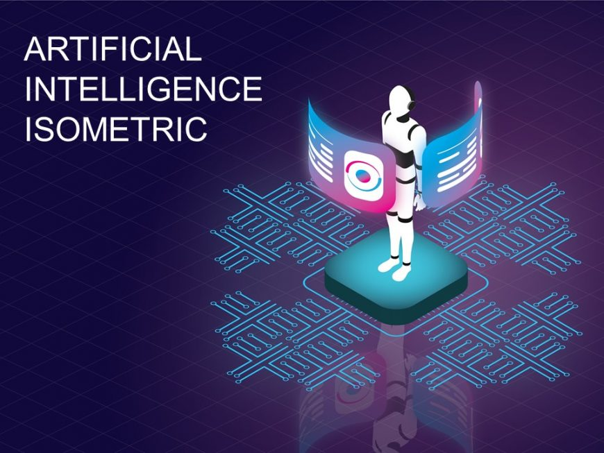 Artificial Intelligence Isometric