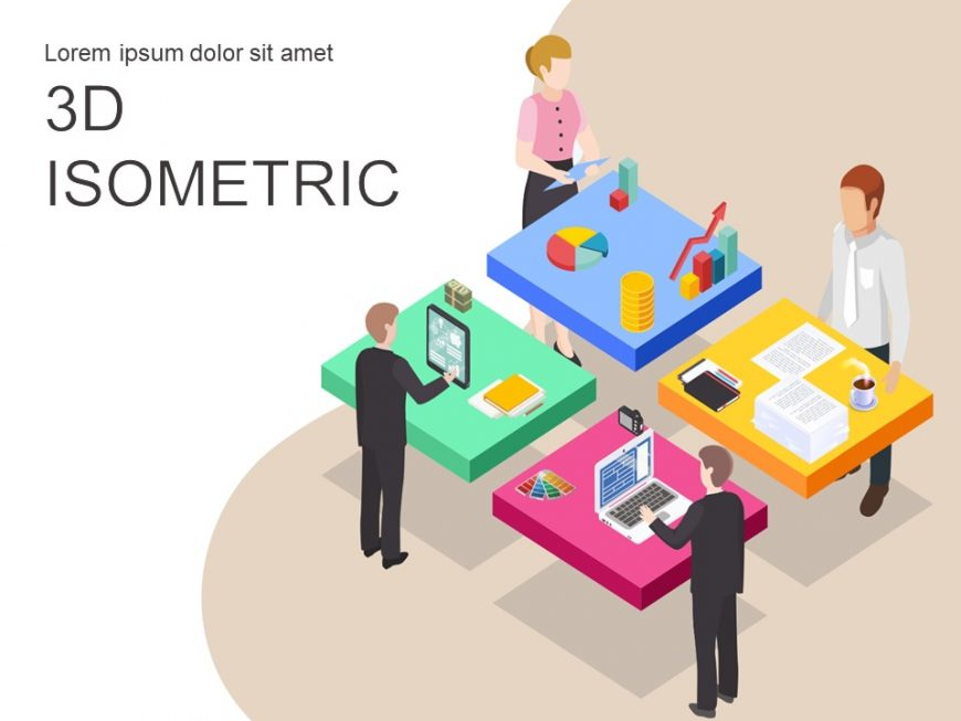 Teamwork Isometric