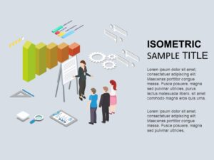 Business Review Isometric