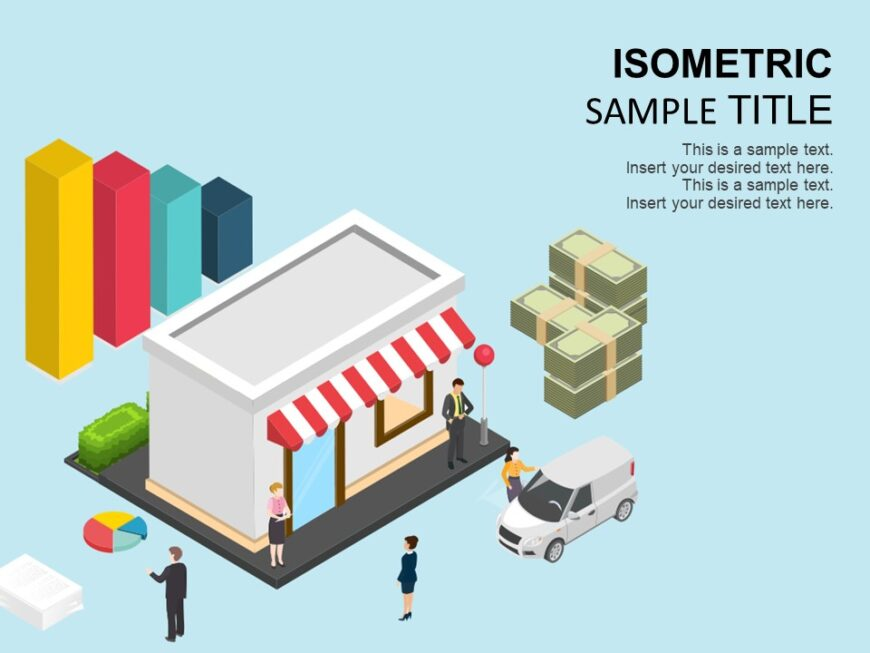Bank Isometric