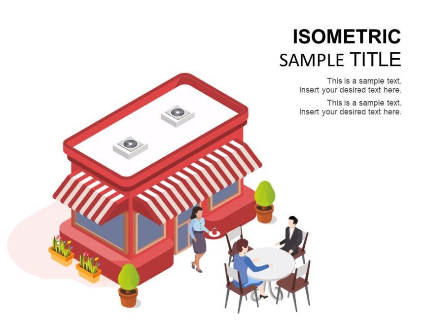 Restaurant Isometric