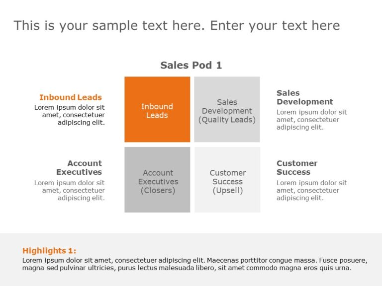 Sales Pod Template