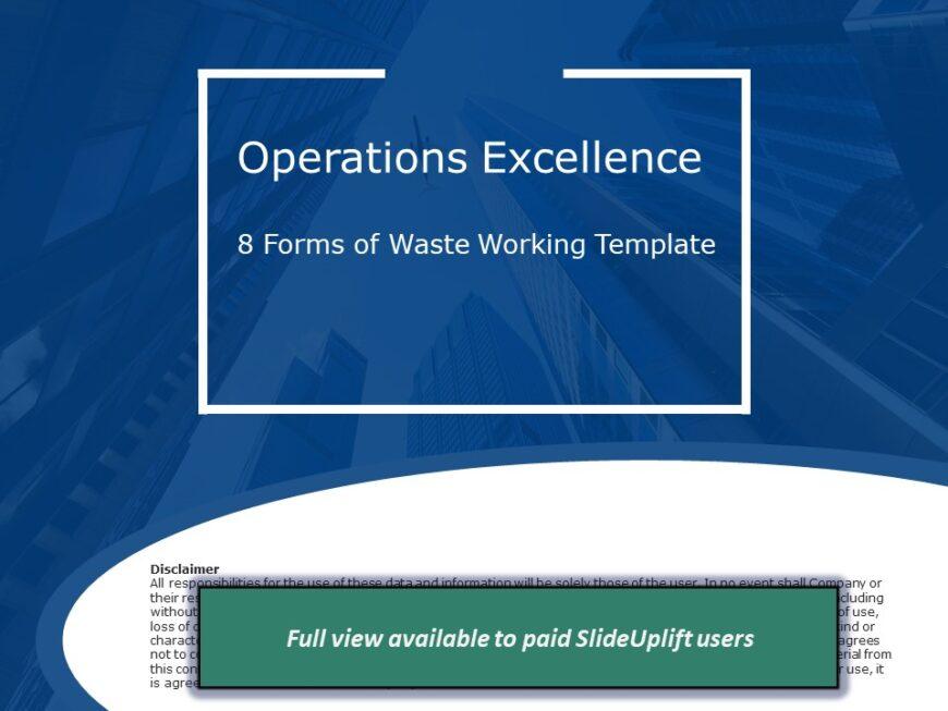 Process Improvement - 8 Ways of Reducing Waste