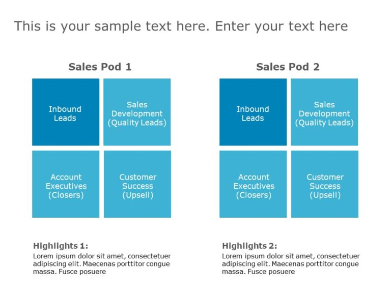 Sales Pod Template 2