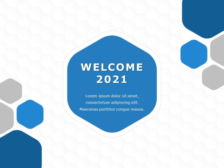 Welcome Slide 2021