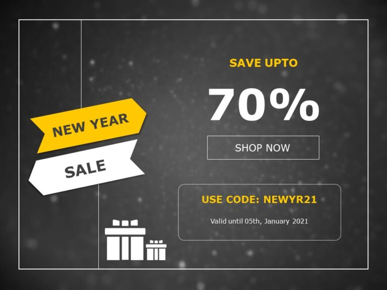 New Year Discount Code