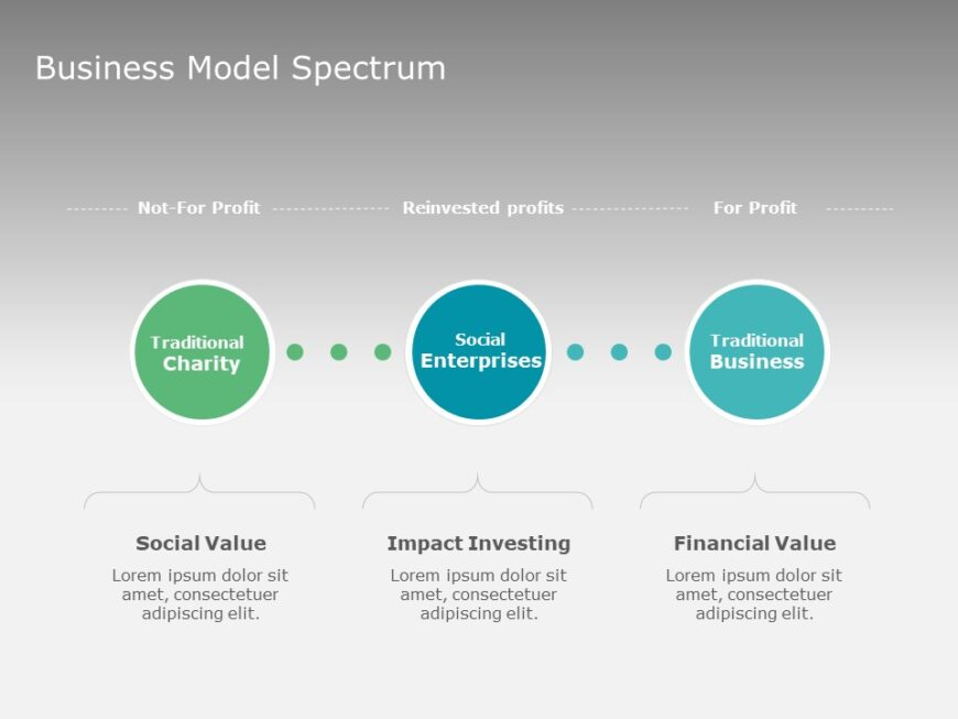Business Model Spectrum Slide